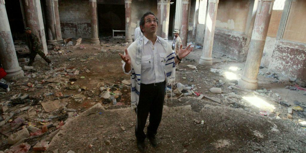 david gerbi en sinagoga