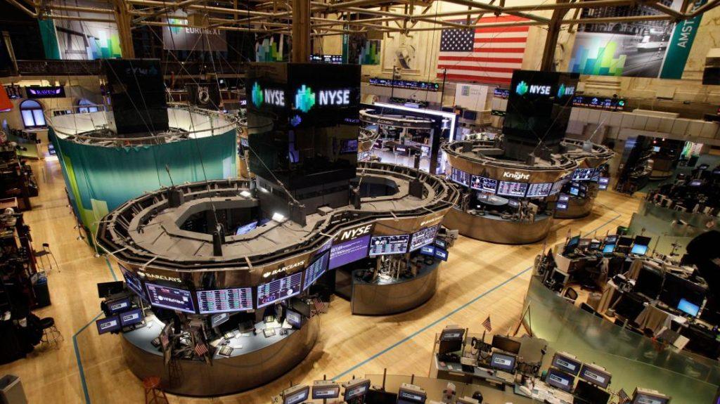 NYSE-vacía-Los-Angeles-Times mundial