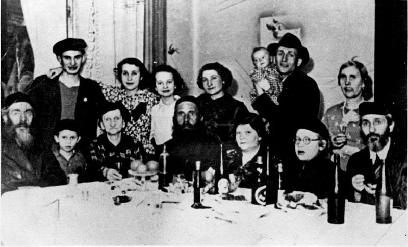 Familia-judía-polaca holocausto